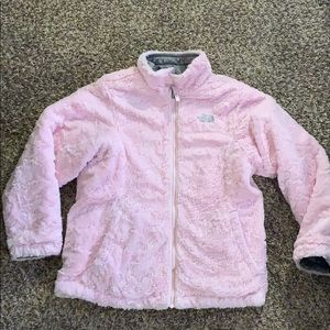 Reversible gray pink THE NORTH FACE JACKET XL
